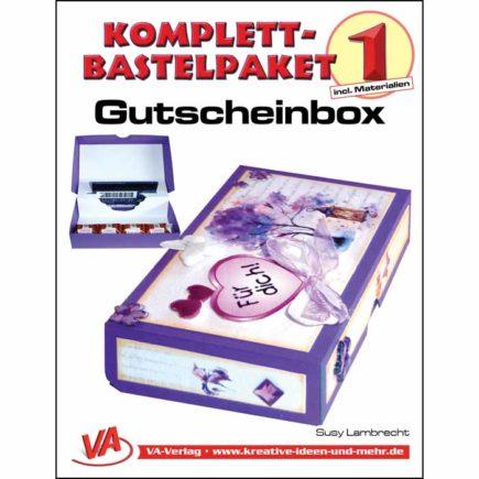 Bastelpaket-Gutscheinbox