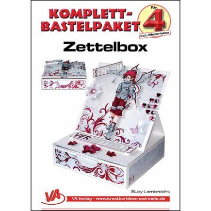 Bastelset-Zettelbox-