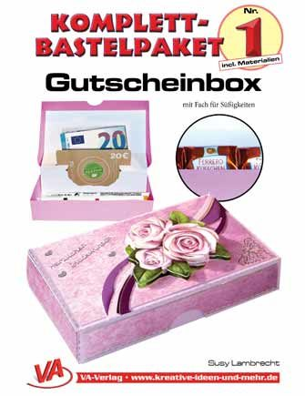 Bastelset Gutscheinbox